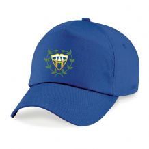Woodvale Cricket Club Beechfield Original 5 Panel Cap Royal Blue 2020